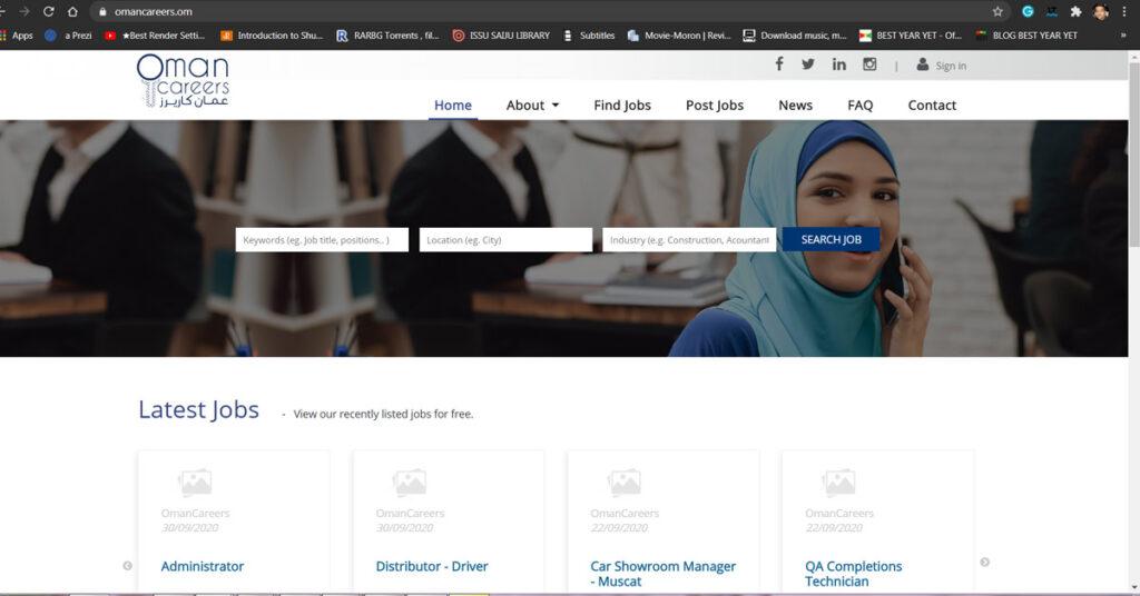 Job Portal Oman